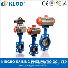 Pneumatic Actuator Butterfly Wafer Type Water Control Valve
