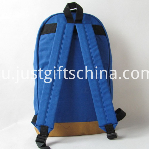 Promotional 600D Oxford Backpacks - Two-Tone Design