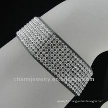 Wholesale fashion Ribbon Rhinestone Bracelet for girls