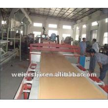экструзионная линия для производства пластиковых доски