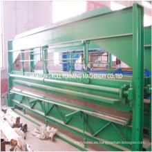 máquina de corte de chapa de acero de color hidráulico