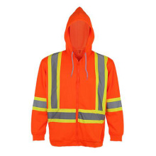Winter Strip Yellow Reflective Safety Jacket
