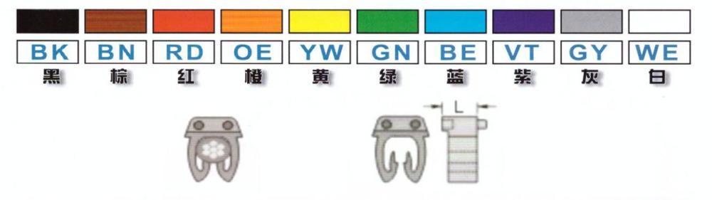 Color is international standard color