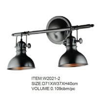 Nuevo estilo de buena calidad negro lámparas de pared
