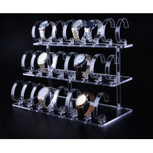 Clear acrylic display rack for watch