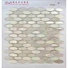 Pebble Glass Mosaic Hot Melt Italy Mosaic