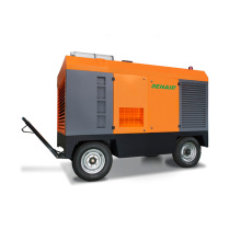 China supplier !silent diesel air compressor used in cable laying for sale