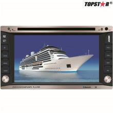 6.2inch Doppelter DIN 2DIN Auto DVD Spieler mit Wince System Ts-2016-2