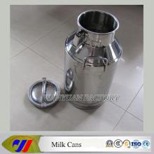 Boîtes à lait en acier inoxydable