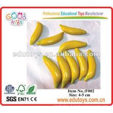 Mini fruits et légumes artificiels - Ensembles de bananes