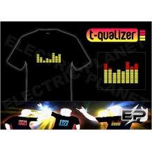 [Super Deal] Venda por atacado quente venda T-shirt A1, el t-shirt, camiseta led 001