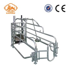 Alat Pertanian Galvanized Farrowing Crates For Babi