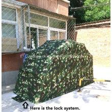 Refugio de motocicleta móvil, venta al por mayor impermeable al aire libre garaje de la motocicleta refugio plegable