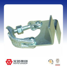 BS1139 steel scaffolding toe board clamp for 48.3mm pipe