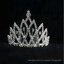 Jóia para Cabelo Tiara de Coroa Tiara de Mardi Gras