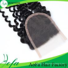 Extension de cheveux humains bouclés crépus naturels à 100% / extension de cheveux vierge brésilienne / cheveux humains