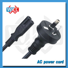 SAA approval 10A 250V Australia AC power cord 2 pin