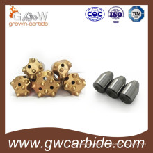 Tungsten Carbide Mining Tips and Button Bits