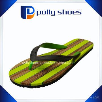 Men′s Green Strap Flat Flip Flop Sandals New