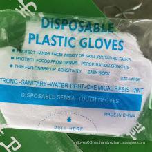 guantes médicos desechables de pvc