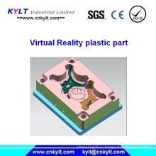 Пластиковая литьевая деталь с виртуальной реальностью (VR)