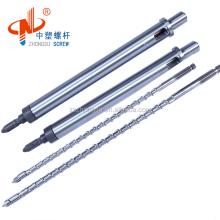bimetallic injection JSW barrel screw for plastic injection machine