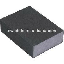 Éponge de ponçage d'oxyde d'aluminium de prix de gros pour le nettoyage de meubles