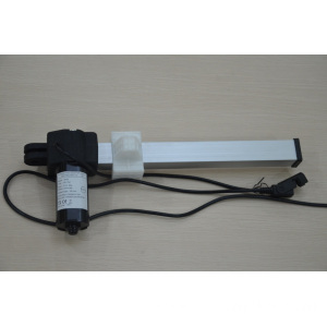Telescopic electric actuator for electric hairdressing sofa