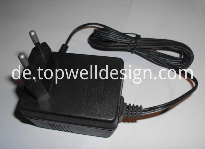 power adapter for plastic cover