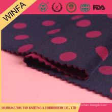 Prix concurrentiel de gros bon marché de rouleaux de tissu de polyester