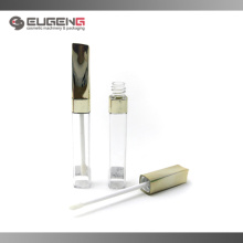 Square lip gloss tubes with oblique cap