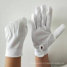Kinder Baumwollhandschuhe Marching Band Handschuhe