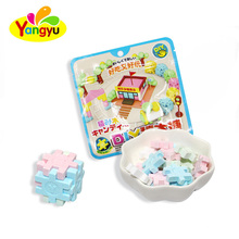 3D DIY Building Block Hard Boiled Sugar Sweets and Candy