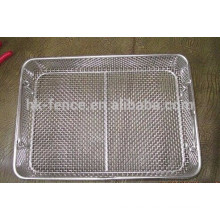 Stainless steel 304 rectangle wire mesh basket