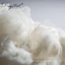 Fibra de lana de buena calidad para el tipo de fibra de lana depilado de 18.5mic mientras tanto