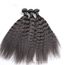Afro kinky human hair virgin Brazilian hair kinky curl straight human hair extension
