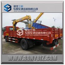 Dongfeng Tianjin 4X2 Camión Grúa 4ton