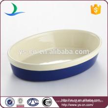 Safety ceramic food baking pan comal tray factory price