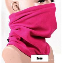 Майор розовый вышивка полиэстер флис шарфы завод