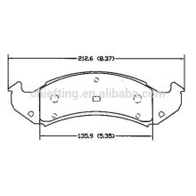 D505 12510001 for Buick Chevrolet Pontiac Cadillac Oldsmobile auto parts brake pad
