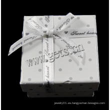 Gets.com cartón oro blanco diamante solitario anillo