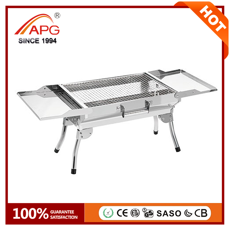2017 APG Smokeless Portable Charcoal BBQ Grill