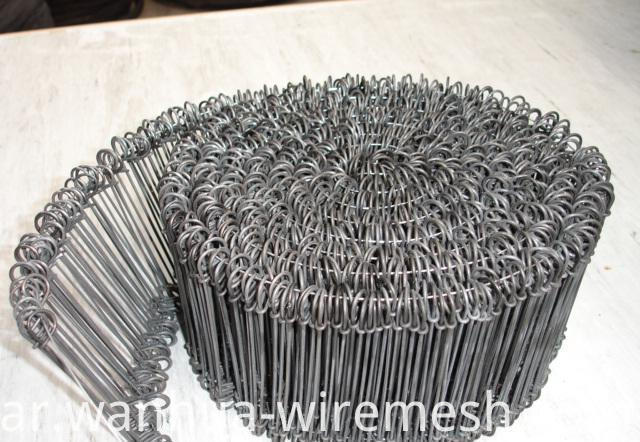 18gauge 7 inches double loop galvanized steel wire ties