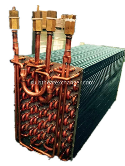 Copper Tube-fin Heat Exchanger