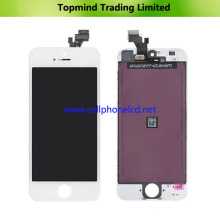 LCD Screen for iPhone 5 with White Digitizer Touch Screen