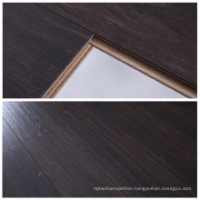 12mm Chocolate Oak Eir Finish Texture Synchronization German Technology Laminate Flooring for Family Use