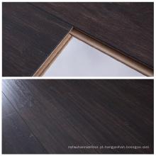 12mm Chocolate Oak Eir Finish textura Sincronização alemão tecnologia Laminate Flooring para uso familiar