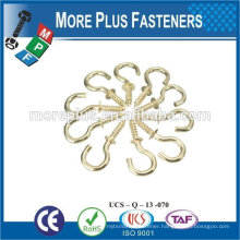 Made in Taiwan High quality open eye special hanging hook screw