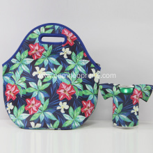 Popular Design for Insulated Lunch Cooler Bag Reusable neoprene lunch tote bag set export to India Manufacturers