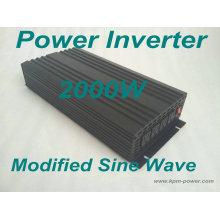 Onduleur à onde sinusoïdale modifiée de 2000 watts / onduleurs cc à ca